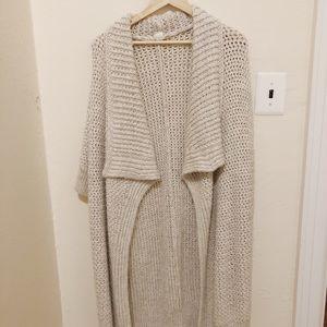 Oversized gap chunky sweater cardigan - never worn